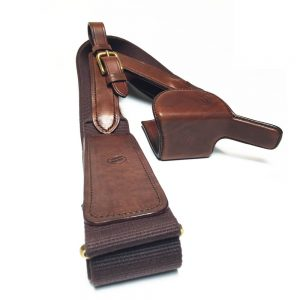 Oxblood LightGun with strap